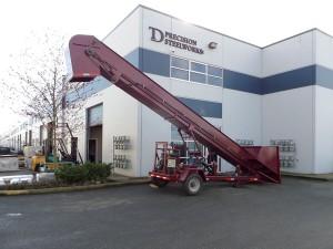 TD Steel conveyor
