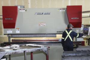 TD Steel CNC Brake Press
